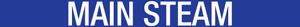 Main Steam Pipe Label