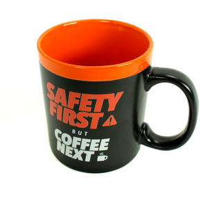 Safety First, But Coffee Next - Creative Safety Supply Coffee Mug