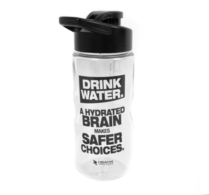 A Hydrated Brain Makes Safer Choices - Creative Safety Supply Water Bottle