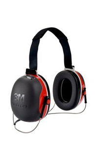 3M™ PELTOR™ X3 Earmuffs X3B, Behind-the-Head, 10 EA/Case