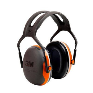 3M™ PELTOR™  Earmuffs X4A, Forestry Orange, 10 EA/Case