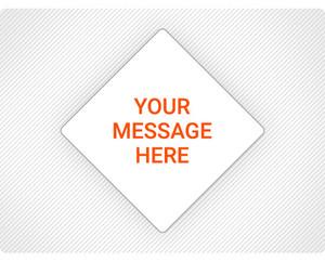 Create Custom Placard Sign