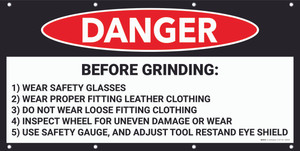 Danger Before Grinding Banner
