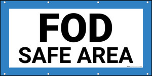 FOD Safe Area Type A Banner
