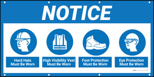 Notice PPE Banner