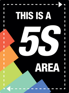 Large 5s Area Sign