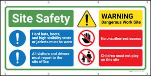 Site Safety Banner