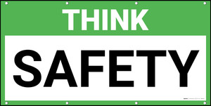 Think Safety Banner