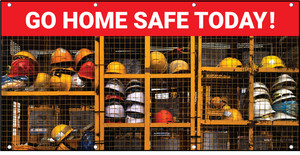 Go Home Safe Today PPE Banner