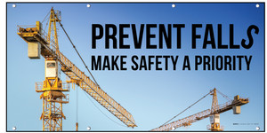 Prevent Falls Make Safety A Priority Image Background Banner