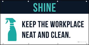 Shine 5S Banner