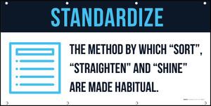 Standardize 5S Banner