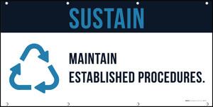 Sustain 5S Banner