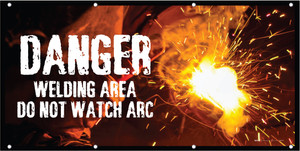 Danger - Welding Area - Do Not Watch Arc
