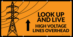 Look Up & Live! High Voltage Lines Overhead