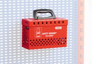 ABUS B835RED Standard Redbox™ w/ 12 padlock eyelets