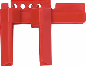 "ABUS V442 Ball Valve Lockout .5-2.5"" Red"