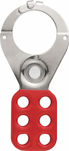 "ABUS 802 Hasp - 1-1/2"" Diameter Lockout with Tabs"