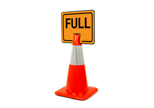 Full Clip-On Cone Sign