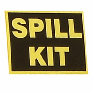 SpillTech Spill Kit Label