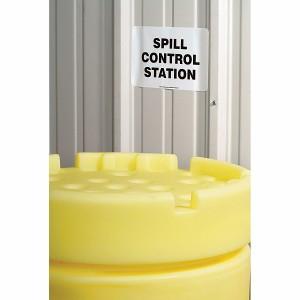 SpillTech Spill Control Station Sign