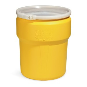 SpillTech 10 Gallon Open Head Poly Drum with Ring