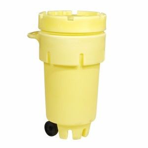 SpillTech 50-Gallon Wheeled OverPack Salvage Drum