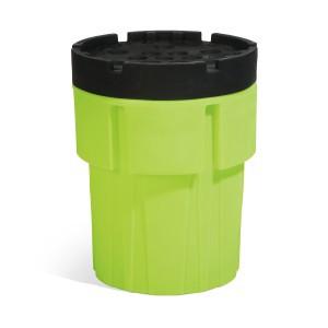 SpillTech 65-Gallon Hi-Viz OverPack Drum