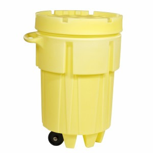SpillTech 95-Gallon Wheeled OverPack Salvage Drum