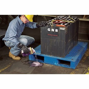 SpillTech Acid Neutralizing Sorbent, 2lb Shaker