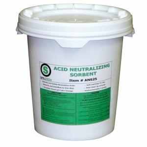 SpillTech Acid Neutralizing Sorbent, 5 Gal. Pail