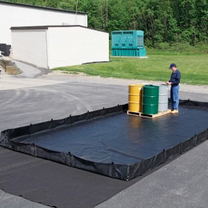"SpillTech Containment Berm - L Bracket. 12"" x 25"""