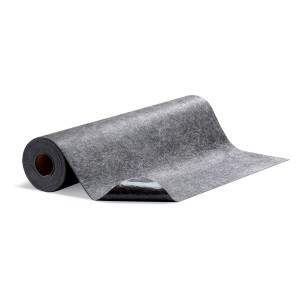 SpillTech Floor Grabber™ High Traffic Mat Gray 10 RL