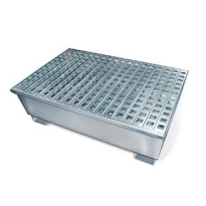 SpillTech 4-Drum Steel Pallet