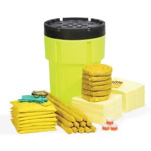 SpillTech HazMat 95-Gallon Hi-Viz OverPack Drum Spill Kit