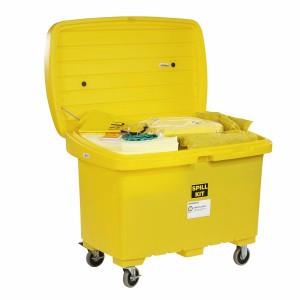 SpillTech HazMat Spill Cart Kit with 5in Wheels