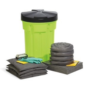 SpillTech Universal 30-Gallon Hi-Viz OverPack Drum Spill Kit