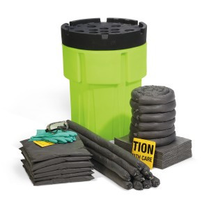 SpillTech Universal 65-Gallon Hi-Viz OverPack Drum Spill Kit