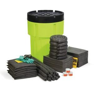 SpillTech Universal 95-Gallon Hi-Viz OverPack Drum Spill Kit