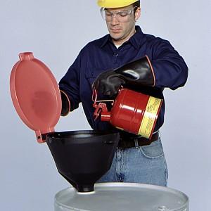 """SpillTech Ultra-Burp-Free Funnel® 13.375"""" dia"""