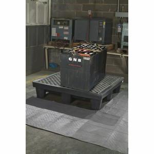 SpillTech 4-Drum Spill Pallet with Drain Plug
