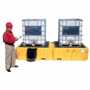 SpillTech Ultra-Twin IBC Spill Pallet®