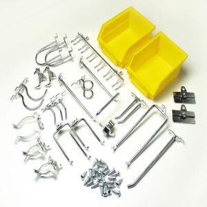 DuraHook Kit - 24 Hooks/2 Bins