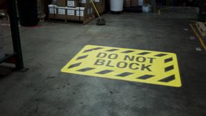 SignCast S300 Virtual Sign - Do Not Block