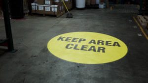 SignCast S300 Virtual Sign - Keep Area Clear