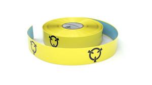 ESD Target Symbol - Inline Printed Floor Marking Tape