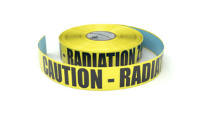 Caution - Radiation Zone - Inline Printed Floor Marking Tape