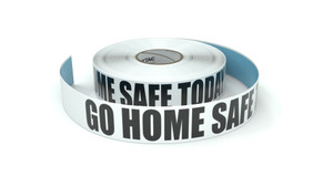 Go Home Safe Today - Inline Printed Floor Marking Tape
