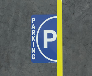 Parking - Floor Marking Sign