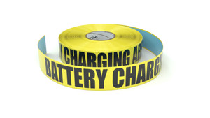 Battery Charging Area - Inline Printed Floor Marking Tape